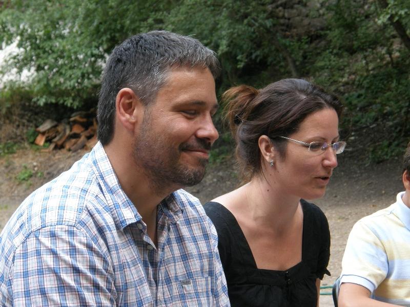 Kalán Pál és felesége - délutáni előadóink