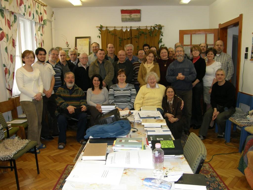 Alakuló presbiteri gyűlés: Piliscsaba 2012 február