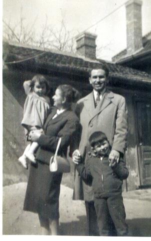 Füle család 1960