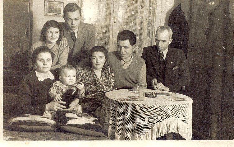 1940 Fodor-Diós család-