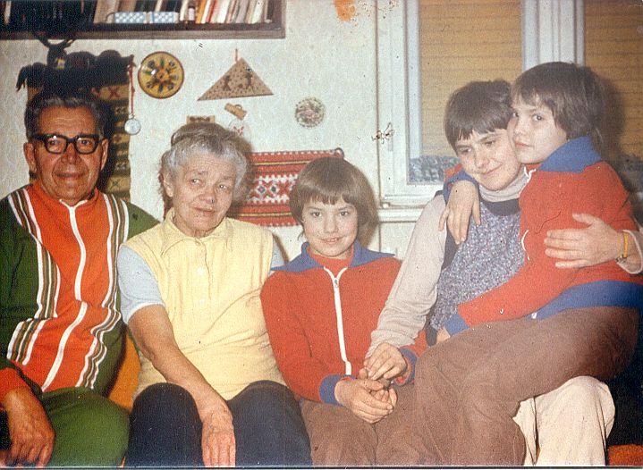 Fodor család - unokák között-