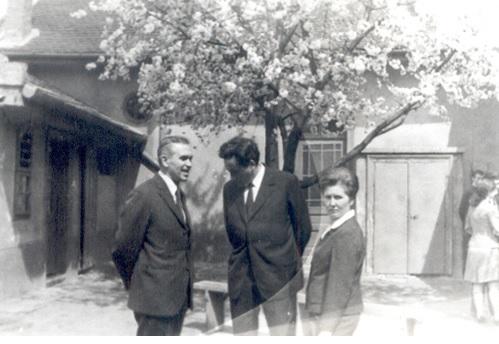 Füle Lajos, Szamosközi Zoltán, és felesége