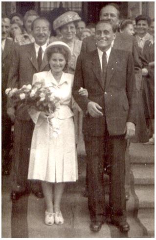 házasságkötés 1949 Budapest - Cziniel Julianna 1925-1991