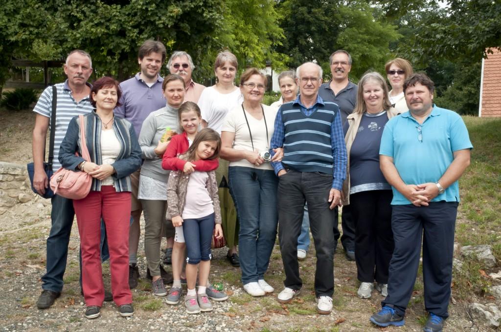 Miklóssy házaspár szervezésében egész napos együttlét volt Balaton-Felvidéken
