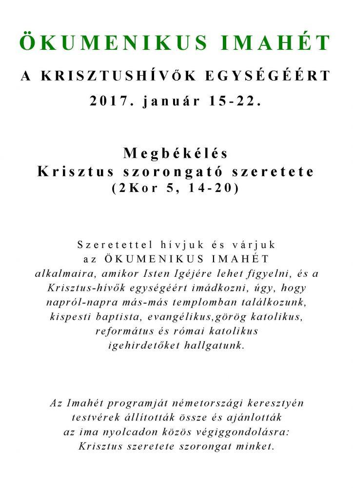 ÖKUMENIKUS IMAHÉT 2017_Oldal_1