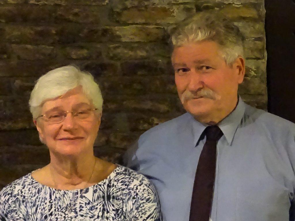 Ablonczy Zsolt és felesége Harkai Eszter