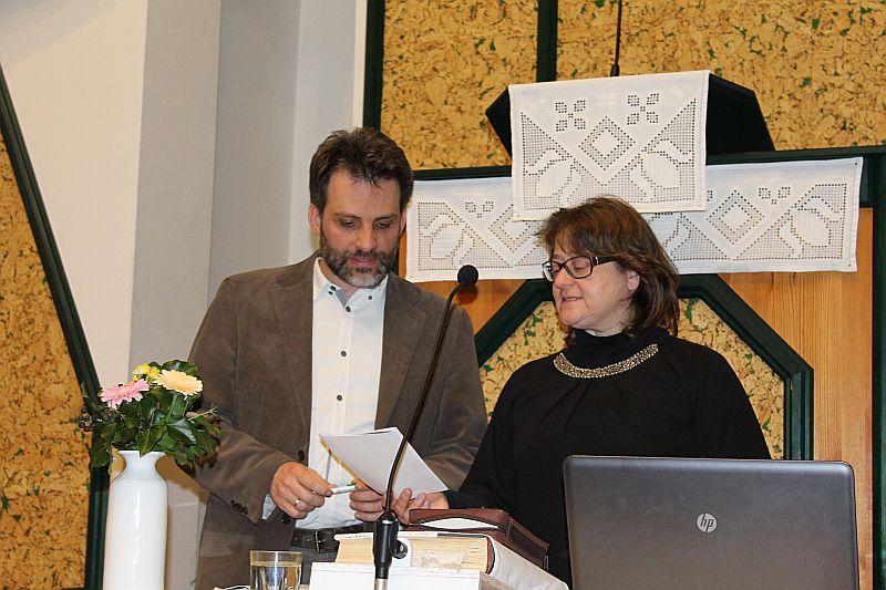 EVANGÉLIZÁCIÓ 2016 március 20-26. - Vendégeink voltak: Fodor Attila és Fodorné, Ablonczy Margit